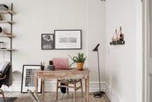 INSIDE / Interiors, home, space, bedroom, desk, office, kitchen, living room,