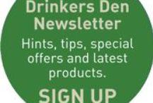 Drinker's Den Newsletter / About out quarterly newsletter, the Drinker's Den