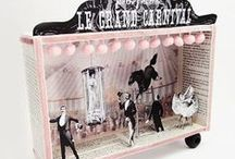 Circus, cabaret, vintage, swing