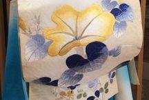 きもの Summer Kimono & Yukata / Casual kimono of coordination for summer