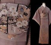 きもの Autumn Kimono / Casual kimono of coordination for autumn