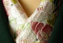 きもの Winter Kimono / Casual kimono of coordination for winter