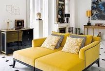 Colour: Yellow / Add a dash of yellow to your home this spring!