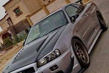 Cars / These are my favorite cars Nissan and Subaru