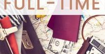 Making Money While Traveling / Tips & Tricks for finding ways to provide income for your RV Living experiences. Have you ever wanted to know how people can afford to travel full time while living in an RV? Learn how to make money while traveling full time. You will find the best full time travel budgeting tips right here!