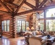 Awesome log home is awesome.