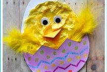 Easter / Arts, Crafts, Activities and recipes for kids and families with an Easter theme. / by I Heart Crafty Things