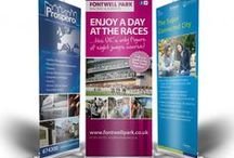 Roller Banners / Inspiration and ideas for roller banners.  / by Solopress