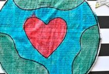Earth Day / Arts, Crafts, Activities and recipes for kids and families with an Earth Day theme.