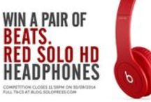 Competitions / Latest competitions at Solopress.com - win cool stuff for yourself! / by Solopress