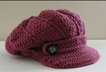 crocheted hats / by Donna Clemmens