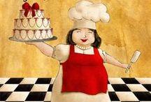Bakery: Cakes Pies, Pastry / by Miroslawa Pustelnik