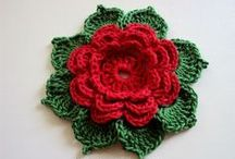 crocheted flowers / by Donna Clemmens