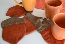 Thanksgiving Sewing Projects / Check out these Thanksgiving decorating ideas and Thanksgiving craft ideas. Here you'll find Thanksgiving table decorations and many other festive fall craft ideas.