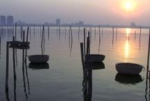 Asien - Vietnam / Vietnam ist ein langgestreckter Küstenstaat in Südostasien. Er grenzt an China, Laos, Kambodscha und das Südchinesische Meer.  http://de.wikipedia.org/wiki/Vietnam
