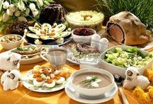 Eastern Europe-Poland-Ukraine-Slavic etc..Food / by Miroslawa Pustelnik