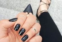 Dark Beauty / Dark colored manis are super chic and ultra daring! This particular board will show the true depth behind deep shades! Rock on with your edgy self!