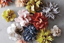 Fabric Flower Tutorials / Learn how to make fabric flowers that will never wilt. For a fabric flower tutorial that is easy to follow, check out some of these fun ideas. Creating DIY fabric flowers is easier than you thought!  / by AllFreeSewing