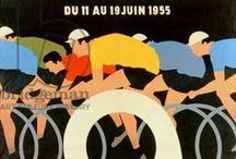 Tour de France / Art, photography and ephemera associated with the world of cycling. / by Bridgeman Images