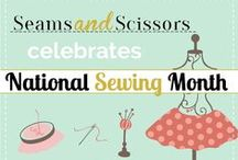 National Sewing Month / Every September we celebrate #NationalSewingMonth with big giveaways, awesome free sewing patterns, and quilt patterns galore. Enjoy!