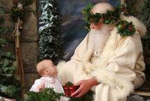 Father Christmas / Santa, St. Nick, Papa Noel......... / by Miroslawa Pustelnik