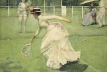 The Art of Tennis / by Bridgeman Images