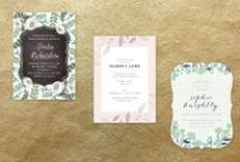 Wedding // Invitations