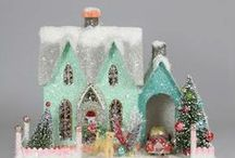 Homes for Christmas / Putz-Villages & such / by Miroslawa Pustelnik