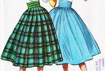 Vintage Sewing Patterns / There's nothing sweeter than a vintage silhouette! Here you will find free sewing patterns from the 1930s, 40s, 50s, and more! / by AllFreeSewing