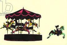 Circus / Circus, Art, clown, clowns, animal, Chaplin, Charlie, mask, masks
