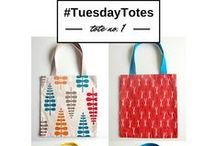 #TuesdayTotes / Every Tuesday, we'll be sharing all kinds of free tote patterns to sew! #TuesdayTotes / by AllFreeSewing
