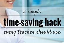 Tips and Tricks Busy Teachers / Tips for Teachers! Classroom decor, management, and more! How to handle stress, what to wear, and how to deal with colleagues!