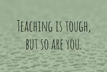Busy Teachers Inspiration / Hey Busy Teachers! You know those days when you are just exhausted? You need some kind words, or funny words, or just thoughtful words to get you on a more positive vibe...Here you go!