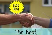 Blog Posts You Need to Read / This is a collection of great blog posts that will help a busy teacher that needs advice or ideas. Whether is classroom management ideas, ways to solve stressful situations, ideas for dealing with parents, or just plain fun tips - these posts are great to read! Have fun!