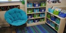 Classroom Libraries / All things books in the classroom! Decor, organization, ideas, and inspiration to set up your reading spaces!