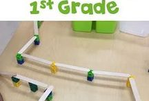 1st & 2nd Grade STEM / Blog posts about first and second grade STEM- many of these posts give materials lists and directions so you cab jump right into STEM with the smallest kids!