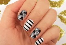 Black and White / Black and White Nails and Nail Art!