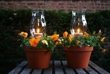 Outdoor decorating / by Glenda Morton Gardner