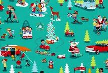 Holiday Fabric  / by Spice Berry Cottage Fabric