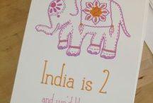 india elephant / indian elephant birthday party
