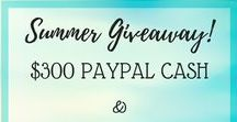 Contests and Give-Aways