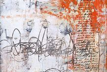 """Asemic Writing / Asemic writing is a wordless open semantic form of writing. The word asemic means """"having no specific semantic content"""". With the nonspecificity of asemic writing there comes a vacuum of meaning which is left for the reader to fill in and interpret.  Wikipedia."""