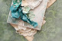 Cards - shabby brights