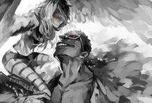 """· Doflamingo x Monet · / """"Forgive me. Please, die for me, and take them all with you."""""""