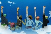 "· One Piece ~ Mugiwara · / ""Being alone is more painful the getting hurt"""