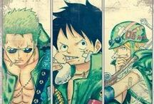 · One Piece ~ Monster Trio ·