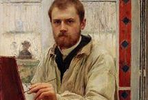 Émile Friant ( 1863 – 1932)  French artist. / Realism