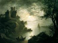 Abraham Pether (1756 – 1812) UK I The Old Pether / Abraham Pether (1756 – 13 April 1812) was an English landscape painter, recognised for his skill in depicting moonlit scenes. He was also a talented musician, inventor, mathematician and philosopher.