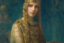 Pre-Raphaelites ,the Models