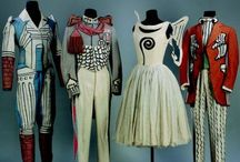 """COSTUME: All the World's a Stage / Favorite designs (and designers)--mostly costume for theatre and film (see also my board:  """"Art / Performance: Dance--It's Just an Expression"""" as well as my various boards of individual designers) / by Ria Runkee"""